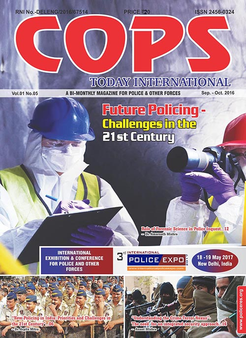 Cops Today Magazine of September-October 2016